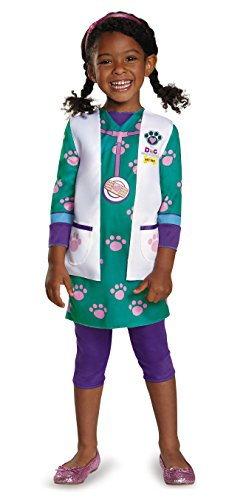 Doc Mcstuffins Halloween Movie (Doc Pet Vet Classic Costume, Large)
