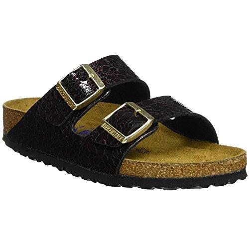 Birkenstock Womens Arizona Myda Wine Synthetic Sandals 39 EU