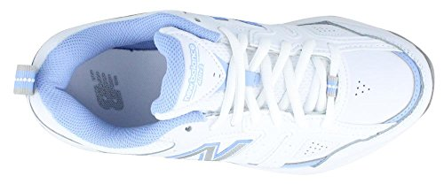 New Balance Damen WX401V2 Trainingsschuh Weiß Blau