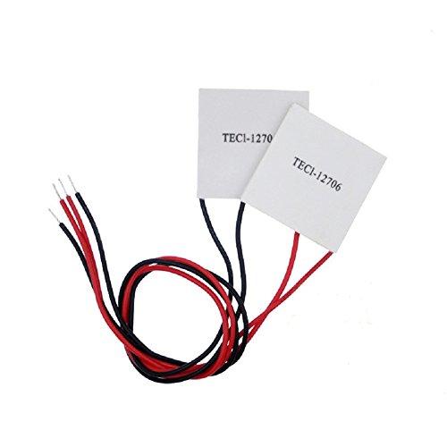AOMGD TEC1-12706 Thermoelectric Peltier Cooler 12 Volt 60 Watt