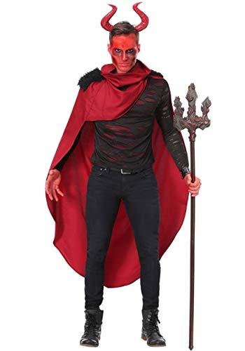 Men's Demon Lord Costume Medium Red]()