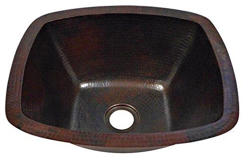 Rectangular Copper Bar Sink - 4