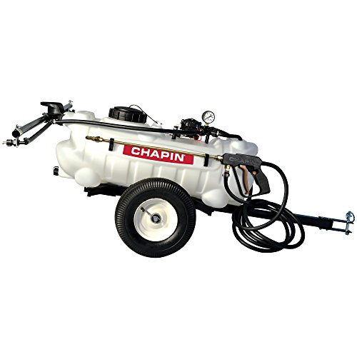 - Chapin 97600 15-Gallon, 12-Volt EZ Tow Dripless Fertilizer, Herbicide and Pesticide Sprayer, 15-Gallon (1 Sprayer/Package)