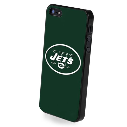 (Forever Collectibles NFL Team Logo Protective iPhone 5/5S Hard Case - Retail Packaging - New York Jets)