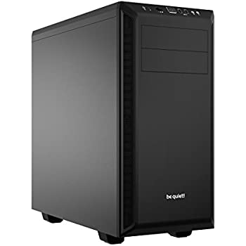 be quiet! Pure Base 600 Black, BG021, Mid-Tower ATX, 2 Pre-Installed Fans