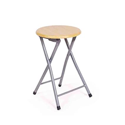 Pleasing Amazon Com Ycsd New Quality Wood Color Round Folding Chair Pabps2019 Chair Design Images Pabps2019Com