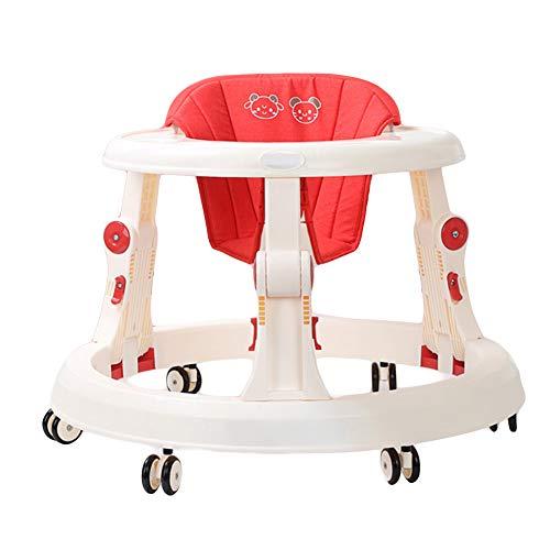 NXLWXN Andador Bebés Ajuste De Altura Andador para Bebés Plegable ...
