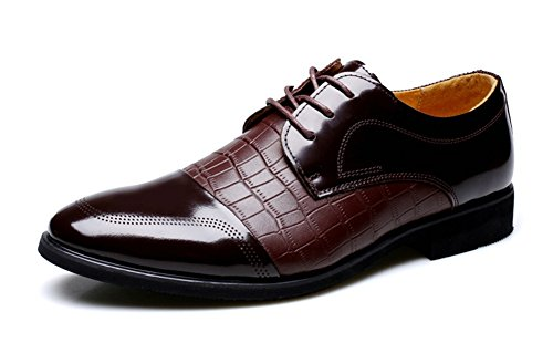 XIE Scarpe eleganti da uomo estive Scarpe da uomo Scarpe casual da lavoro moda 38-43 brown