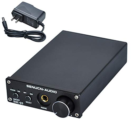 SENUCN-Audio Q5 DAC & Headphone Amplifier, Optical for sale  Delivered anywhere in Canada