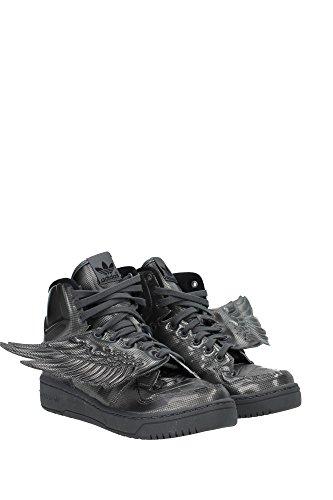 adidas JS Wings Molded, zapatillas para mujer–negro–negro, EU Gris - Grigio