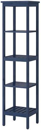 IKEA HEMNES - Estantería, azul - 42x172 cm: Amazon.es: Hogar