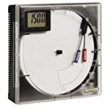 Dickson ET855 Universal Input Chart Recorder, 8'' Chart, 7 Day or 24 Hour Rotation, Display with Min/Max