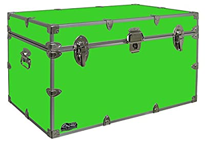 Graduate Footlocker Trunk - #CN-1105-v3 - 32 x 18 x 18.5 Inches - Duarble, Water Resistant