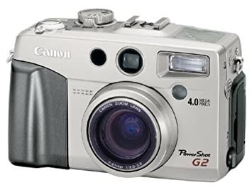 Canon PowerShot G2 4MP Digital Camera w/ 3x Optical Zoom
