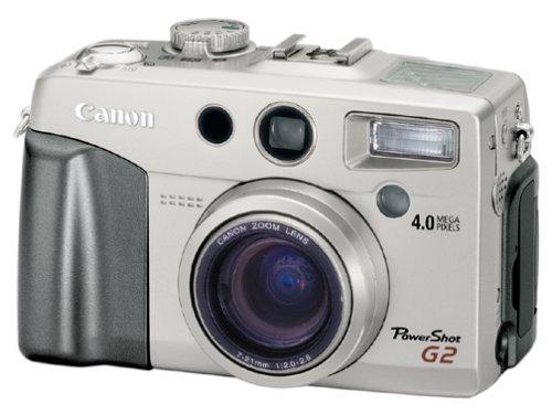 Canon PowerShot G2 4MP Digital Camera w/ 3x Optical Zoom (Lens Powershot G2)