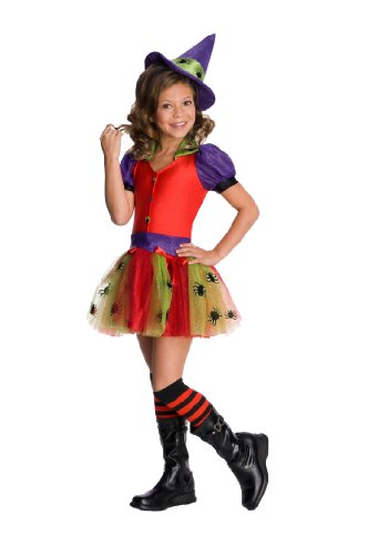 [Rubie's Drama Queens Child Witchy Costume - Small (4-6)] (Spider Queen Costume For Girls)
