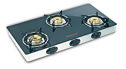 Butterfly LPG Stove, 3 Burners, Black (L3550A00000)