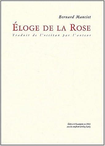 Livre Eloge de la rose pdf