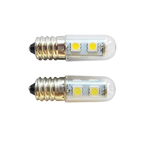 E14 Screw LED Refrigerator Lamp Sewing Machine Lamp 5050 Lamp Beads 1.5W Energy-Saving Bulb Transparent Cover 220V Ksruee - Bead Bulb Covers