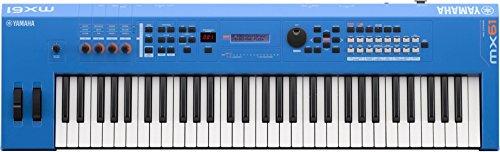 Yamaha MX61 Music Production Synthesizer, Blue