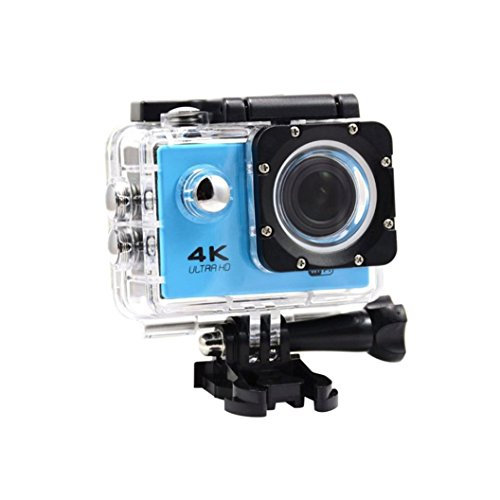 Kinrui Waterproof 4K SJ9000 Wifi HD 1080P Ultra Sports Action Camera DVR Cam Camcorder (Blue) by Kinrui