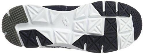 Lotto Lightrun, Zapatillas de Deporte Exterior para Hombre Azul (Blu Avi/slv Mt)