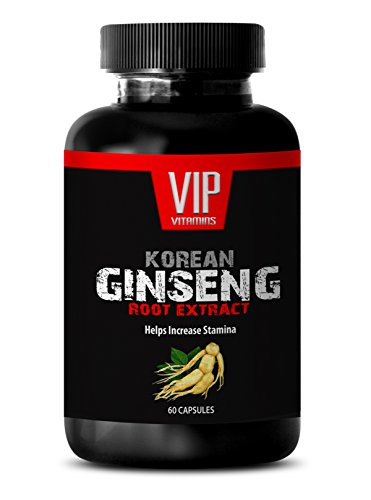 weight loss and energy pills - KOREAN GINSENG 350MG - red panax ginseng - 1 Bottle (60 Capsules) (Review Food Scale)