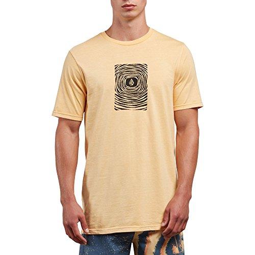 Volcom Men's Engulf Short Sleeve Graphic Tee, Sunburst, XXL