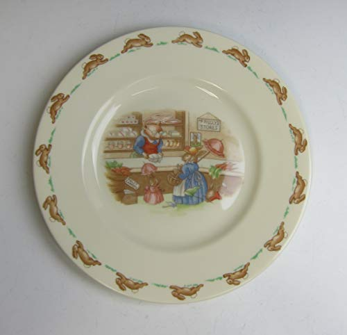 Royal Doulton China Bunnykins (ALBION SHAPE) Piggly's Store Salad Plate EX