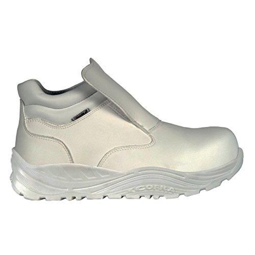 "Cofra 55280––000.w42Talla 42S3CI SRC–Zapatillas de seguridad ""okuden–Blanco"