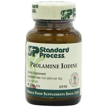 Standard Process Prolamine Iodine 90 Tablets