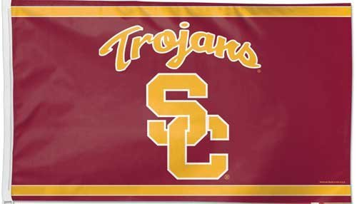 University of Southern California Trojans Grommet Flag USC NCAA Licensed 3' x 5'