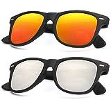Polarized Sunglasses for Men and Women | Matte Finish Sun glasses | Color