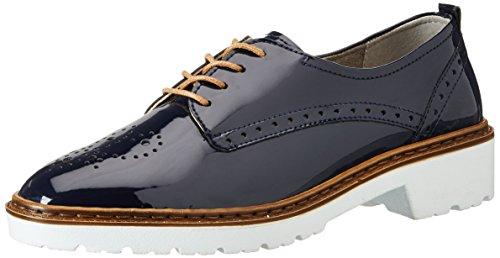 Jenny 22-50014, Zapatos de Cordones Derby Mujer Azul (Blau)