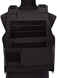 Black Hawk Airsoft Tactical Vest is Adjustable for Light Outdoor CS Training Protective Vest.
