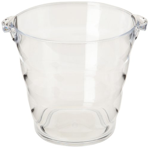 Prodyne Acrylic Wine Bucket, 4-Quart, -