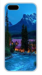 Beautiful Place PC Case Cover for iPhone 5 and iPhone 5s White Halloween gift by Maris's Diary