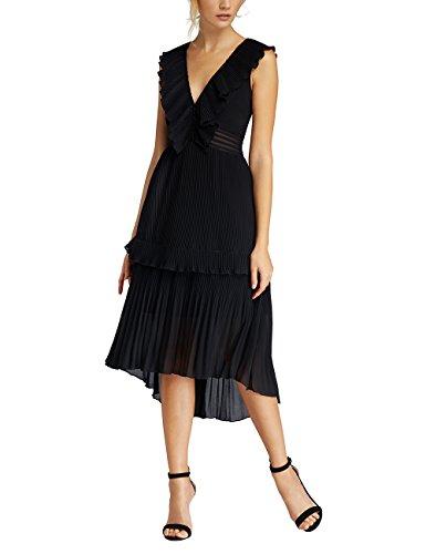 APART Schwarz Partykleid Fashion Damen APART Fashion z7wxOO