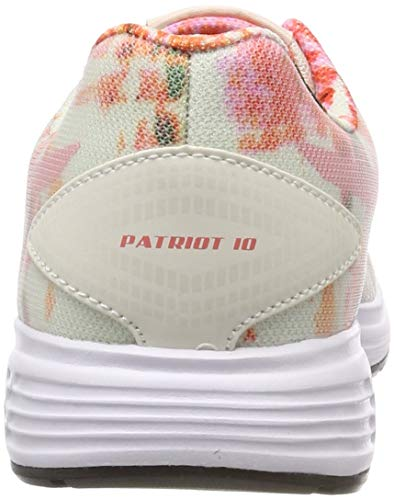 10 Asics De Running cream Patriot papaya Para Sp 101 Mujer Beige Zapatillas xR7qwp74
