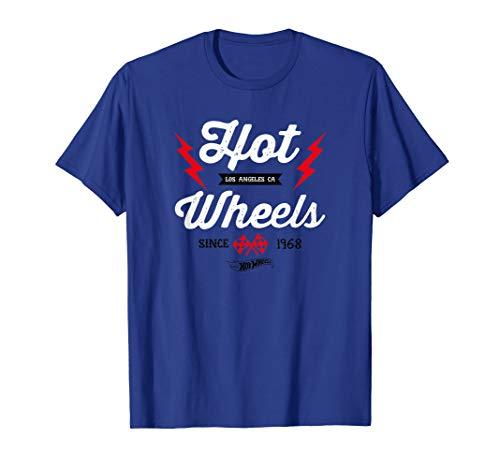 Adult Hot Wheels - Hot Wheels Vintage Badge Flame T-Shirt