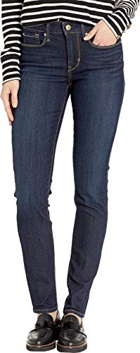 Signature by Levi Strauss & Co Women's Totally Shaping Skinny Jeans, Gala, 12 Short (Best Jeans For Size 12 Curvy)