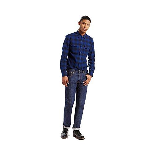 Levi's 00501 Men's 501 Original Fit Jean, Rinse 37461-36x28
