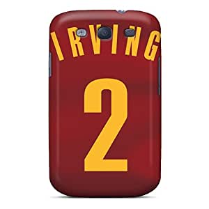 ERCox Scratch-free Phone Case For Galaxy S3- Retail Packaging - Cleveland Cavaliers