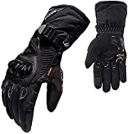 1 par de luvas de motocicleta Homyl, luvas para corridas de moto, ciclismo, podem ser usadas em telas sensívei