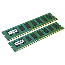 Crucial 8GB kit (4GBx2) DDR3-1600 MT/s (PC3-12800) Non-ECC UDIMM Desktop Memory Upgrade CT2KIT51264BA160B / CT2CP51264BA160B