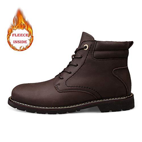 EU EU EU Stivali 46 shoes in Dimensione Dimensione Dimensione Dimensione Casual Xujw Color Tinta Uomo Black Stivali Brown Warm Unita da in Gomma Caldi 2018 Warm Uomo Tinta Unita Stivaletti da Bg5dqw