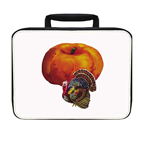 Thanksgiving Turkey Pumpkin Holidays Insulated Lunch Box Bag - Turkey Pumpkin Kit