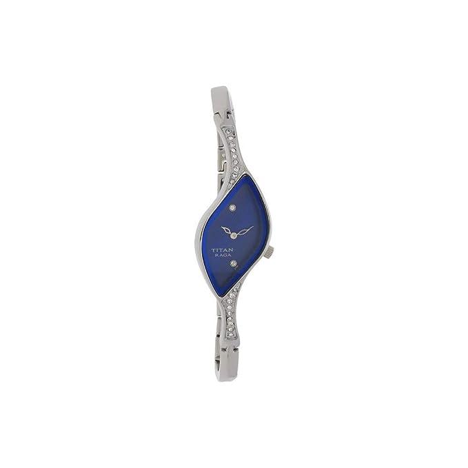 Titan Analog Blue Dial Women's Watch   NH9710SM01E Women