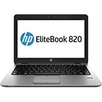 HP EliteBook L3Z39UT#ABA 12.5-Inch Laptop (Black)
