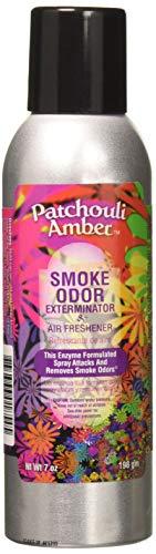 Smoke Odor Exterminator Spray, Patchouli Amber, 7 Ounce, 7 oz,